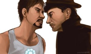 TonyStark.and.SherlockHolmes by ZombieGnu