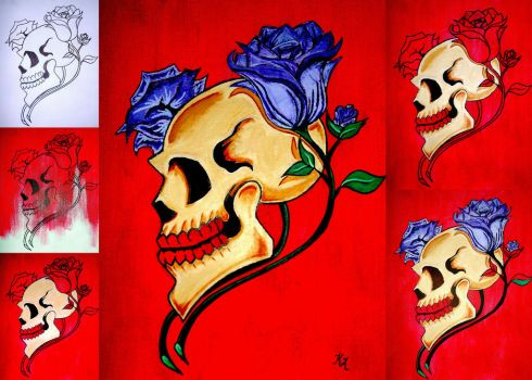 Collage 2 of Lover's Macabre. by sexykitty2385