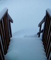 Snow Coverd Deck by Rubyfire14-Stock