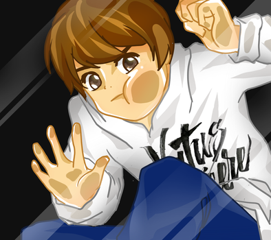 Tried to confine Dendi by xairylle