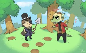 Animal Crossing by TheScatterbrain