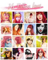 Tiffany 16 Icon Pack by bunnydubu