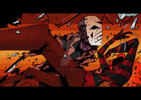 Freddy Vs Jason by TaraGraphic