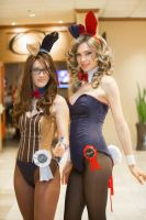 Dr. Who Bunnies by RuffleButtCosplay