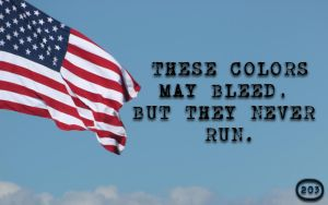 These Colors May Bleed, But They Never Run by GlenRoberson