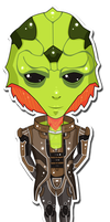 Mass Effect Chibis: Thane by Missi-Moonshine