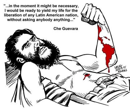 Anniversary of Che execution by Latuff2