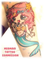 Tattoo: Mermaid by MoogleGurl