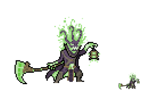 League of Legends: Thresh (OLD) by Eviscus