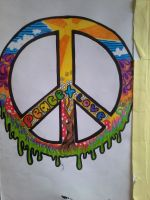 peace and love by VictoriasARTwork