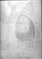 Lion by llavaud