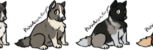 Puppy Adoptables [name your price] CLOSED by FluffyKennels