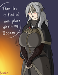 Commission: Fire Keeper's Bosom for Juan4all by Brian12