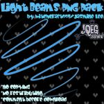 Light Beams Stock - 5 Beams - by Witchcraft997