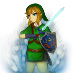 LoZ - Skyward Sword Link by NemoraFarraige