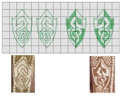 Slytherin Shields Charts by Glori305