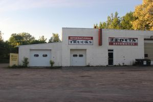 Old Building/Garage/Background Stock by BeccaB323