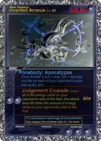 Inverted Arceus Pokemon Card by Shadosenimbus