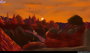 Autumn Landscape by CloudDG