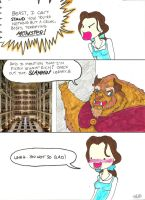 Beauty and The Beast Gag by jamishgirl