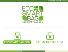Eco Friendly bag co. Logo by 5MILLI