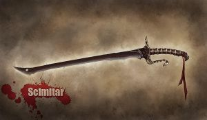 Scimitar by Icecoldart