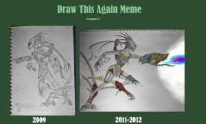 Whats old is new again Ash Khul, Draw this again by Lexinator117