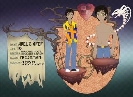 New Ma App - Abel and Apep by TwilightSweetie