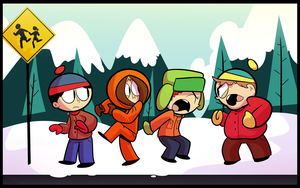 Southpark by RoastedStix