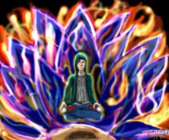 Lotus Position by Scorpion451