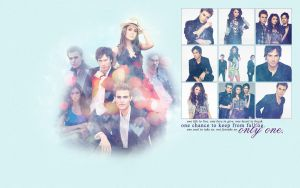 Vampire Diaries wallpaper. by InvisibleFairy