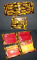 Flame Duct Tape Wallets by PracticallyGeeky