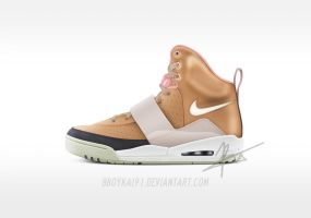 "Nike Air Yeezy HD ""Net"" by BBoyKai91"