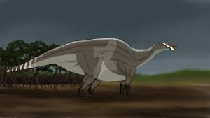 Ouranosaurus WIP by yoult
