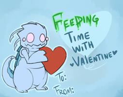 Kog'maw Valentine day card by JessyThePika