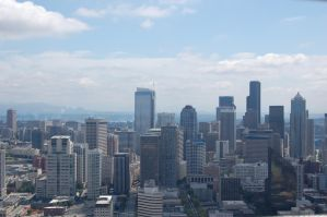 Stock 139 - Seattle Skyline by pink-stock