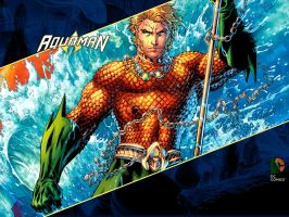 JL Aquaman Wallpaper by PyroDark