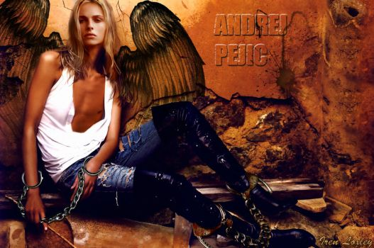 Andrej Pejic Angel by Iren---Loxley