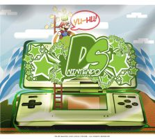 Nintendo DS - Collab by luh-yart