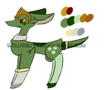 POINT Adopt pt 1 - Cucumber OPEN by WolveFalcoAdoptables