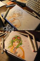 COPIC markers by FranciscoETCHART