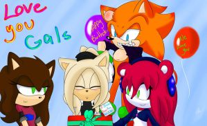 :Gift:  Love You Gals~ by SonicForTheWin2