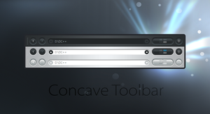 Concave Toolbar by GeorgeHarrison