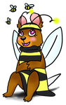 Happy Bee Day by Featherkissed