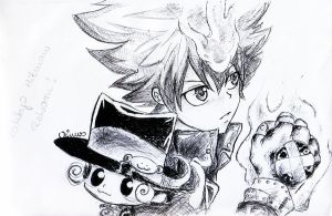 ::Katekyo_Hitman_Reborn_SkEtCh:: by Vinuss