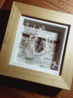 Look To The Sky - Original Papercut and Assemblage by PaperPandaCuts