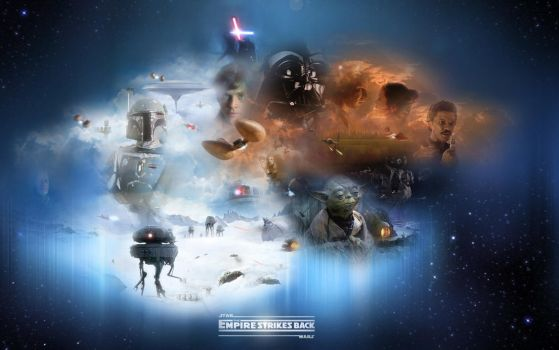 The Empire Strikes Back-Final by 1darthvader