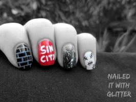Sin City: A Dame to Kill For by NailedItWithGlitter