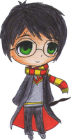 Harry Potter Chibi by cacoxima