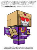Cubeecraft - Blitzwing by CyberDrone